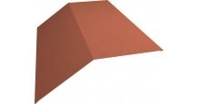 Коньки для кровли из металлочерепицы в Санкт-Петербурге Планка конька 190х190