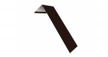 Металлические доборные элементы для фасада в Санкт-Петербурге Планка лобовая/околооконная простая 190х50